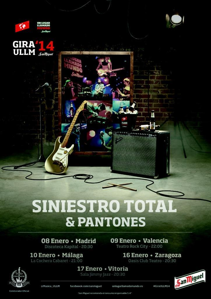 Siniestro total concierto st en kapital madrid for Sala kapital madrid
